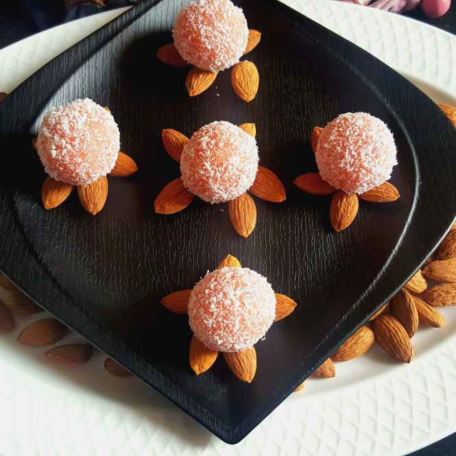 Photo of ROSE FLAVOURED MARZIPAN by MOUMITA DAS at BetterButter