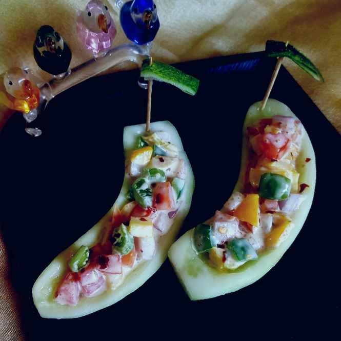 Photo of CUCUMBER BOAT by MOUMITA DAS at BetterButter