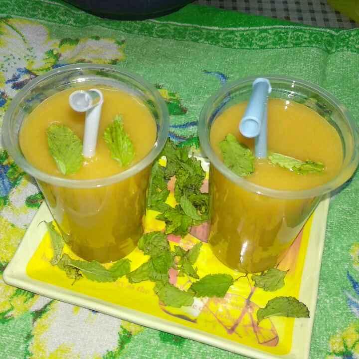 How to make Mango iced tea