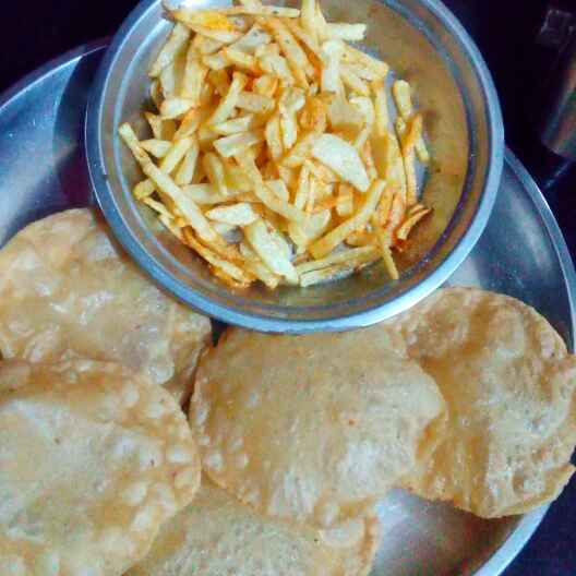 How to make Kachori with french fries