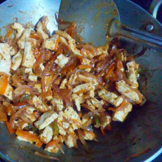 How to make Chinese style paneer