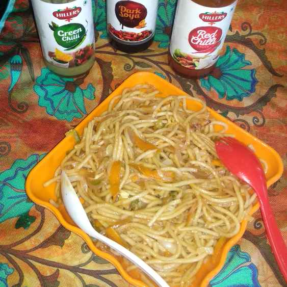 Photo of Hakka noodles by Rimjhim Agarwal at BetterButter