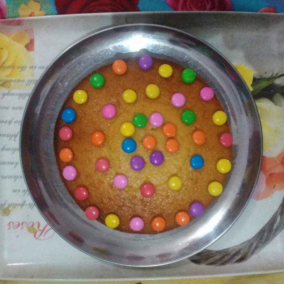 How to make Parle g cake