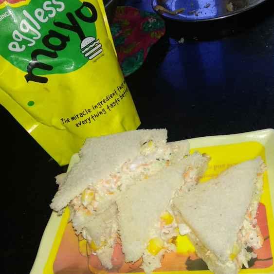 How to make मेयो सैंडविच