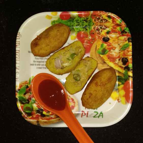 How to make Cheese potato cutlet