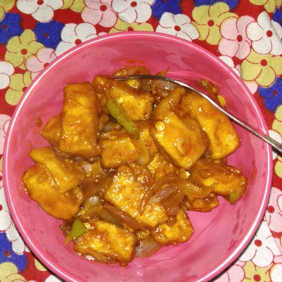 Photo of Paneer chilli by Rimjhim Agarwal at BetterButter
