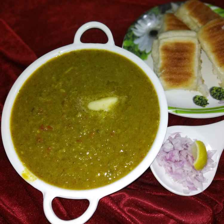 Photo of Green pavbhaji by Rimjhim Agarwal at BetterButter