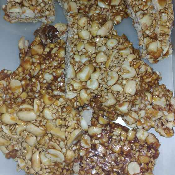 Photo of Peanut jaggery chikki by Rimjhim Agarwal at BetterButter