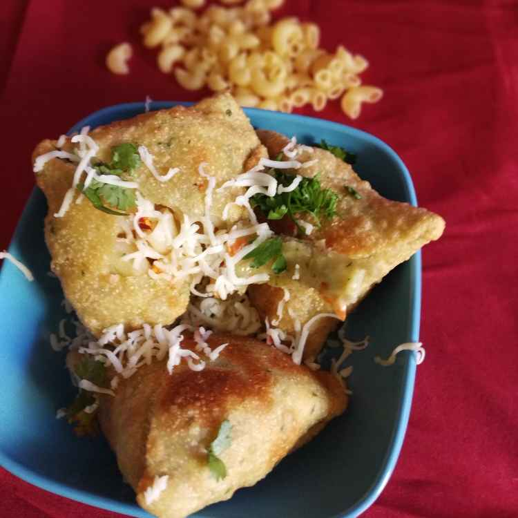 How to make Mac and Cheese Samosa