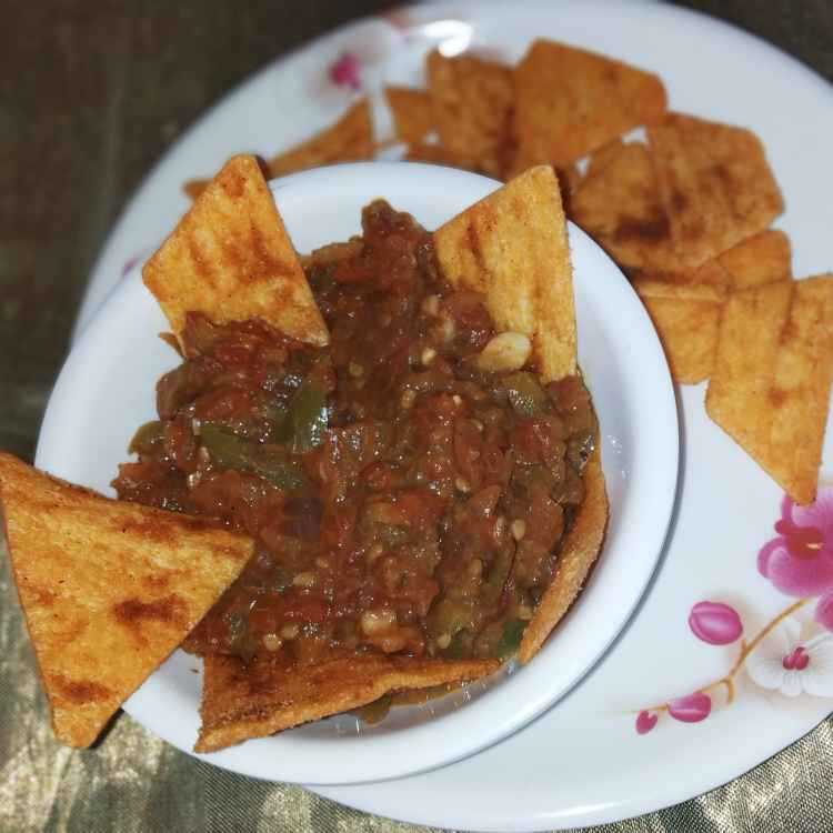 Photo of Chilli tomato salsa dip by Rimjhim Agarwal at BetterButter
