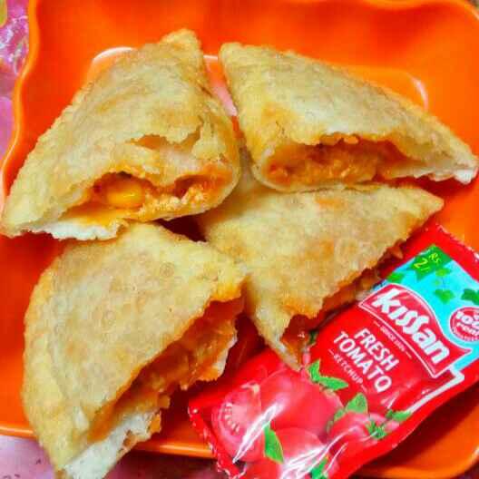 How to make Pizza mac puff