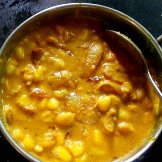 How to make Corn Do Pyaza