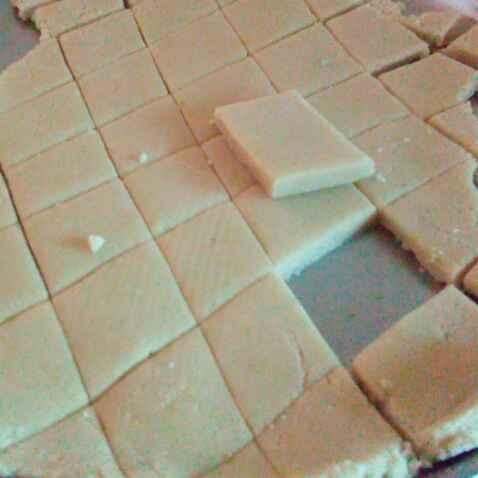 How to make काजू कतली