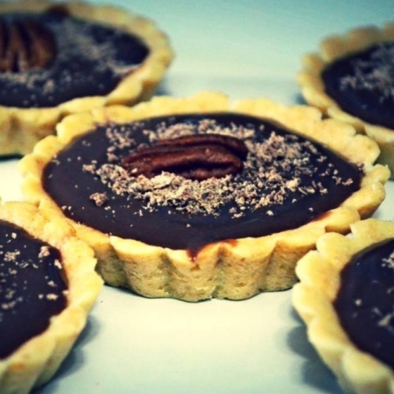 Photo of Chocolate Pecan Tart by Rina Chakravarty at BetterButter