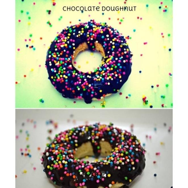 Photo of Chocolate Doughnuts by Rina Chakravarty at BetterButter