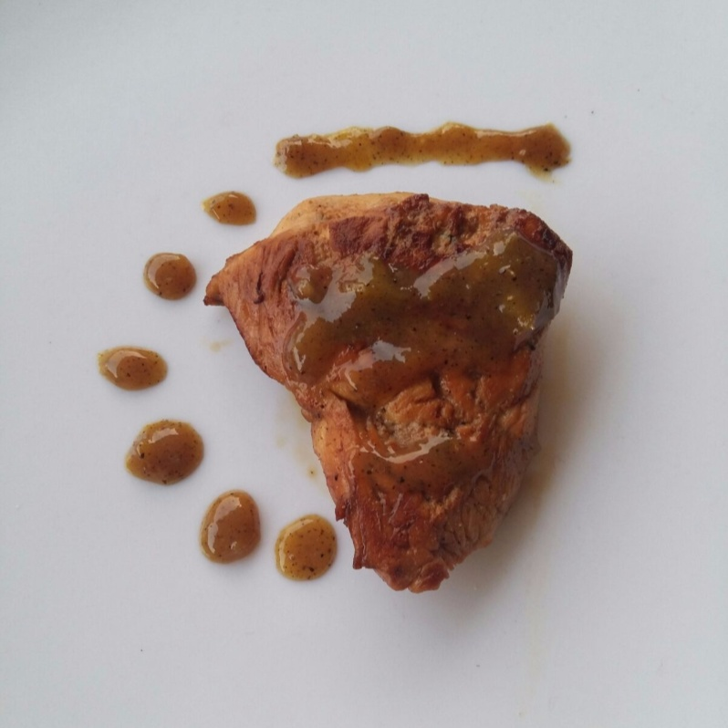 How to make Mosambi Chicken with Honey ginger Reduction
