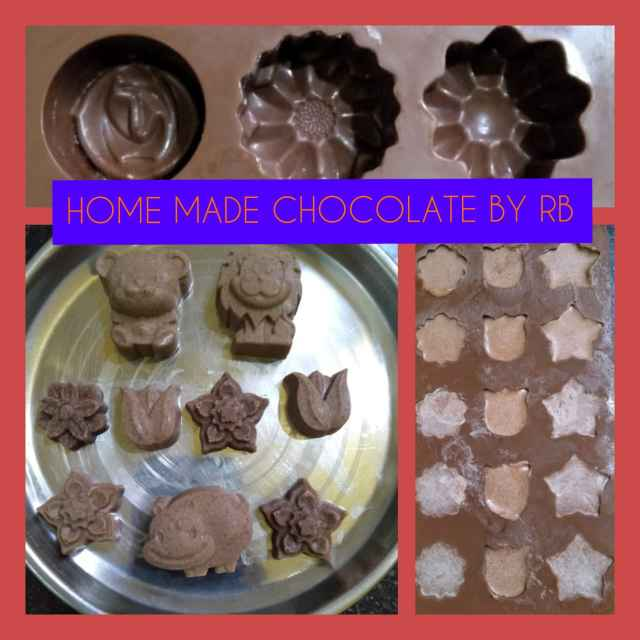 Photo of Home made Chocolate by Rita Biswas at BetterButter