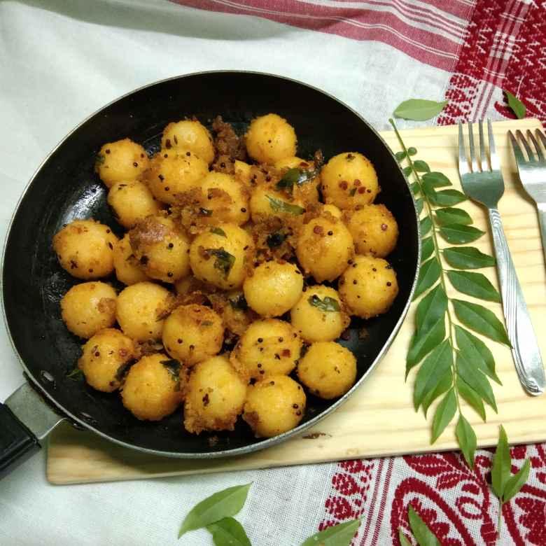How to make Rawa  steam gulla upma