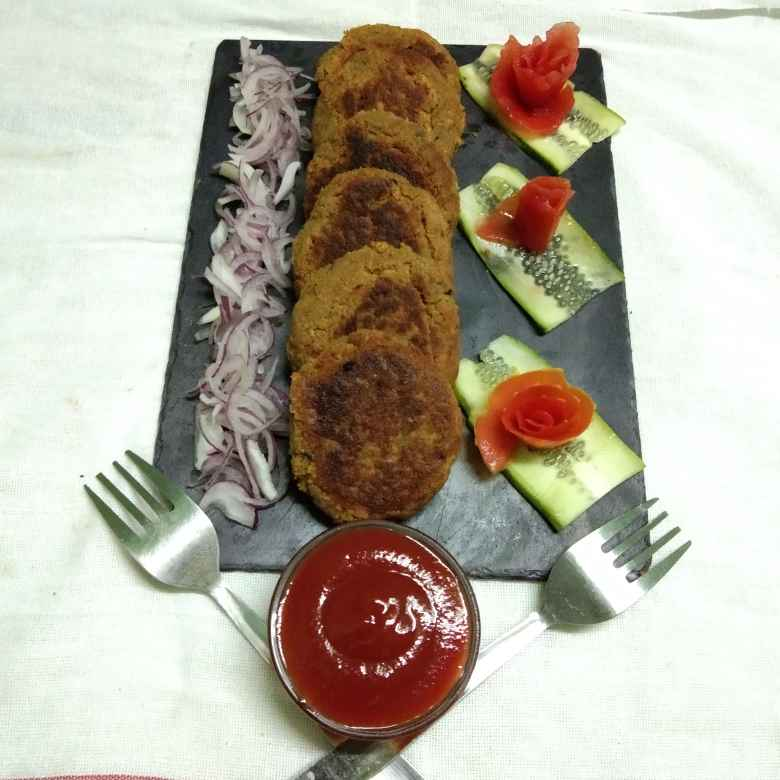 How to make soya galouti kebab