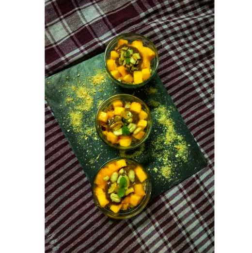 Photo of Fruit chocolate custard mocktail by Ritam Guha at BetterButter