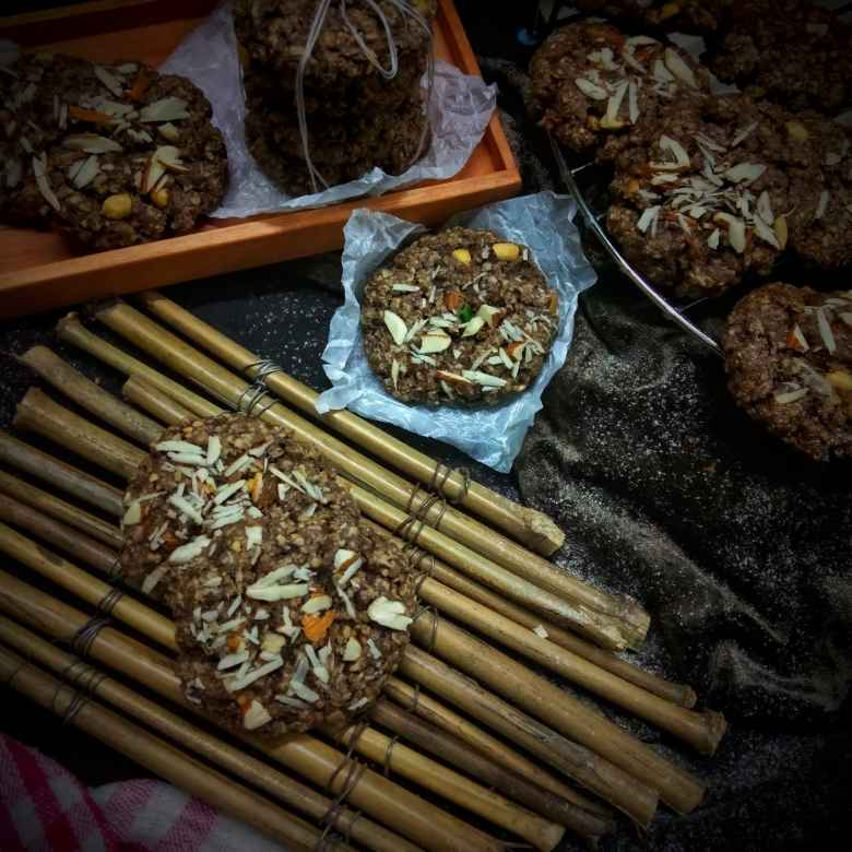Photo of Oats & Nuts Cookies (Eggless) by Ritam Guha at BetterButter