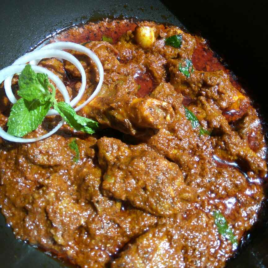 How to make Mutton Ghee Roast