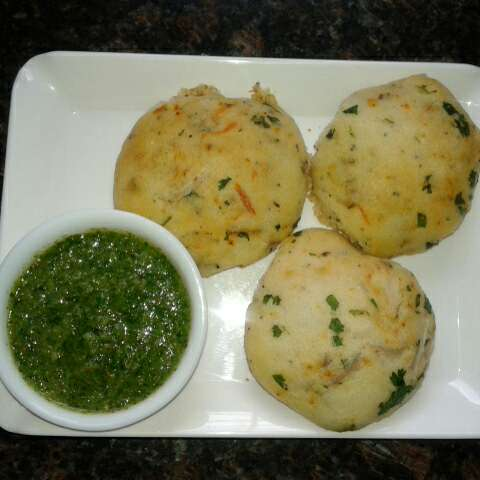 How to make Upma buns
