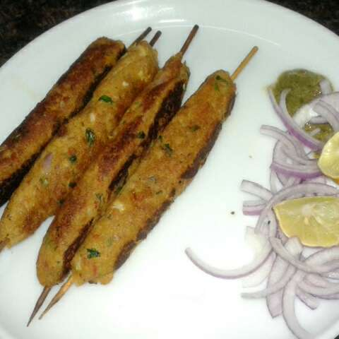 Photo of Soya seekh kabab by Rita Arora at BetterButter