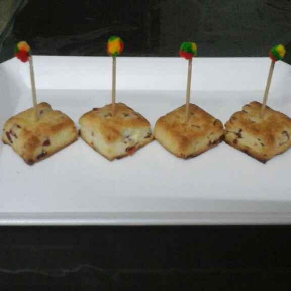 Photo of Cherry short bread bites by Rita Arora at BetterButter