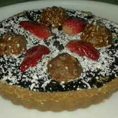 How to make Chocolate Strawberry Tart
