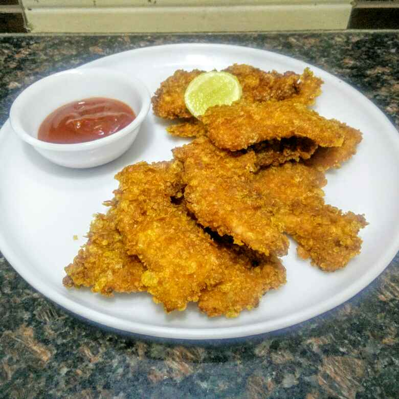 Photo of Crunchy Chicken fingers by Rita Arora at BetterButter