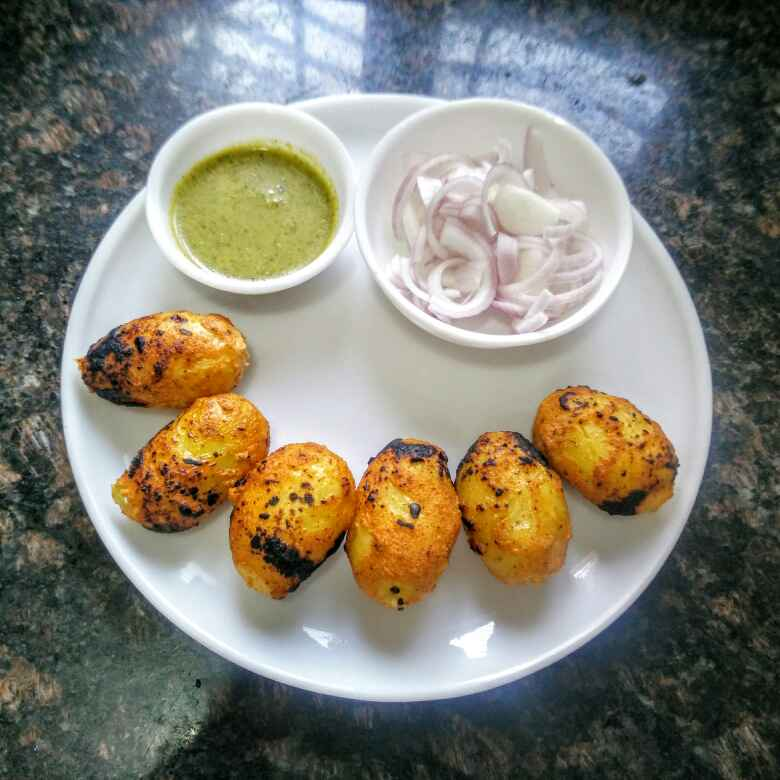 Photo of Tandoori Aloo or Aloo Tikka by Rita Arora at BetterButter