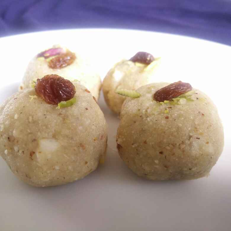 How to make Lotus seeds-nuts ladoo