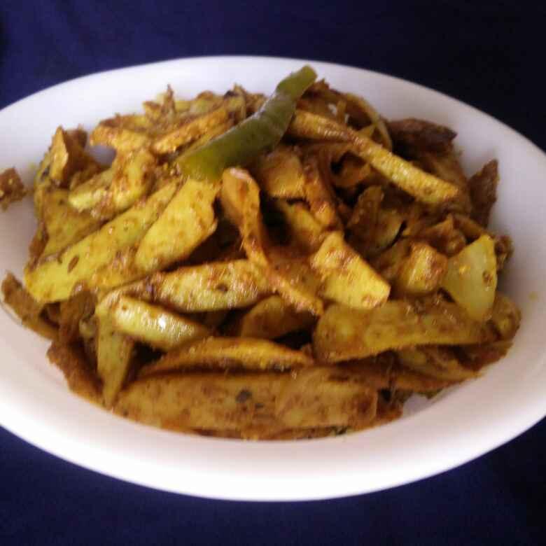 How to make Tawa Arbi Fry