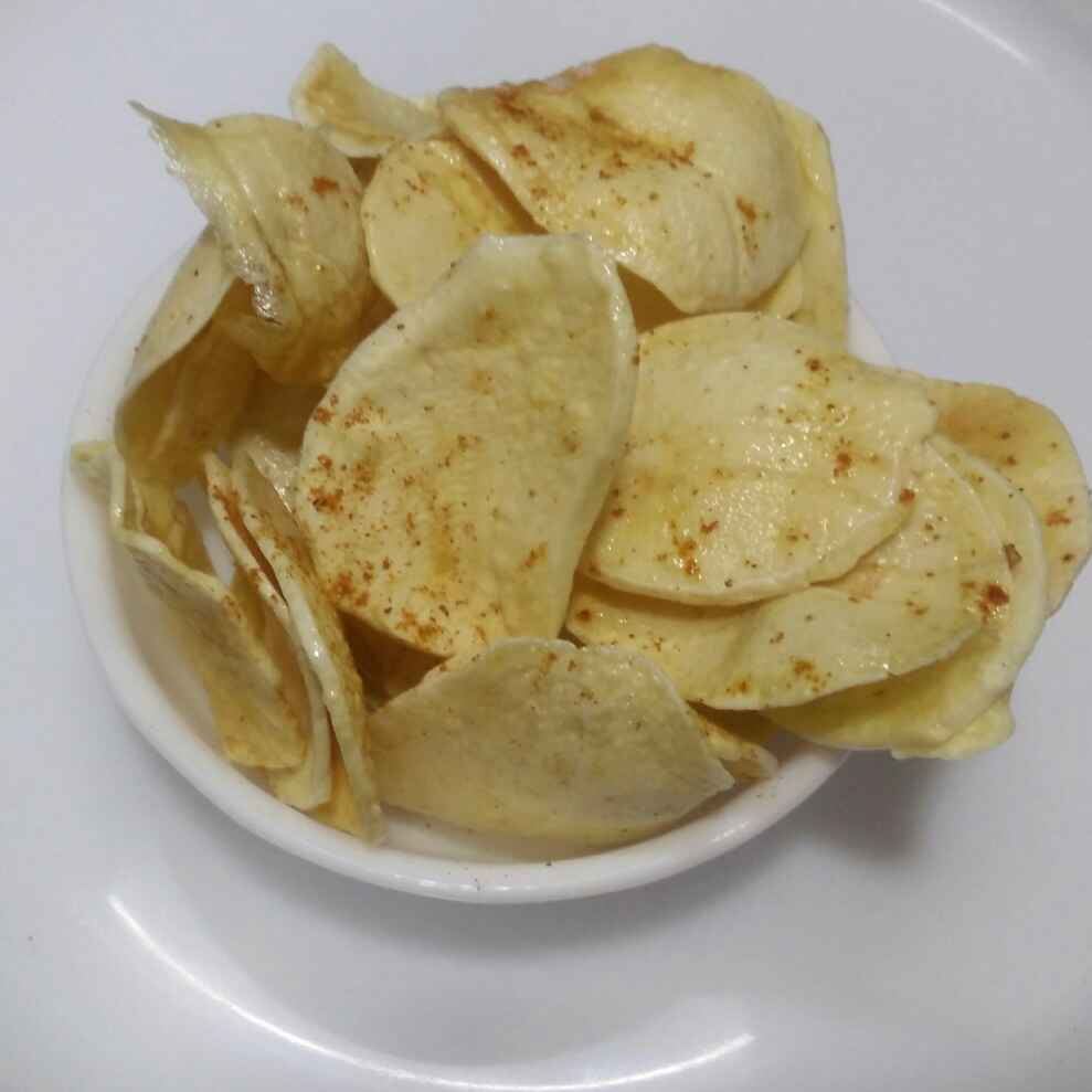 Photo of Sun dried Potato Chips by Rita Arora at BetterButter