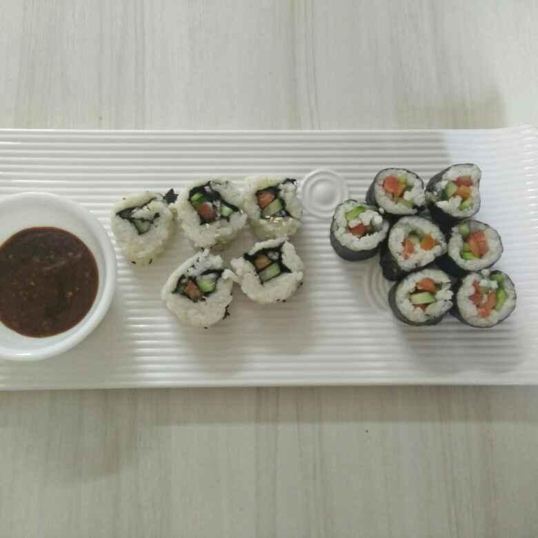 How to make Japanese Sushi