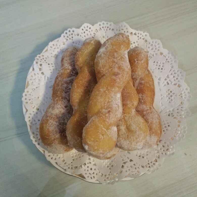 Photo of Kkwabaegi (Twisted doughnuts) by Rita Arora at BetterButter