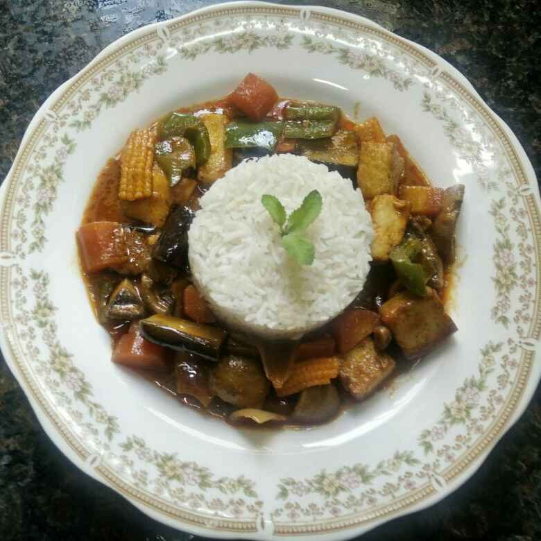 How to make Vegan Red Thai Curry