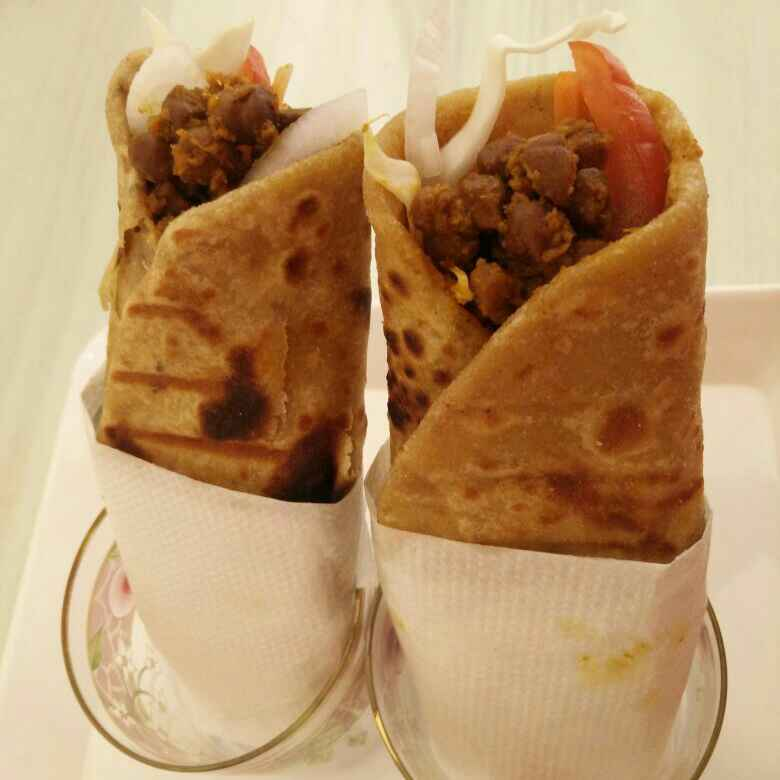 How to make Chick Pea Wraps