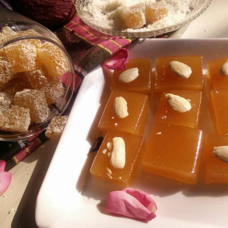 Photo of Amla Almond Bites by Rita Arora at BetterButter