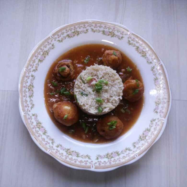 Photo of Mushroom Manchurian by Rita Arora at BetterButter