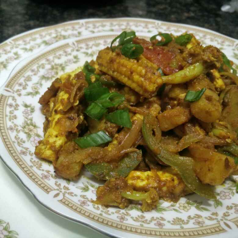 Photo of Vegetable Makhni Jalfrezi by Rita Arora at BetterButter