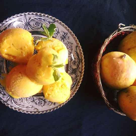 How to make Mango Sorbet