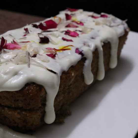 How to make Water chestnut cake with cheese rabdi