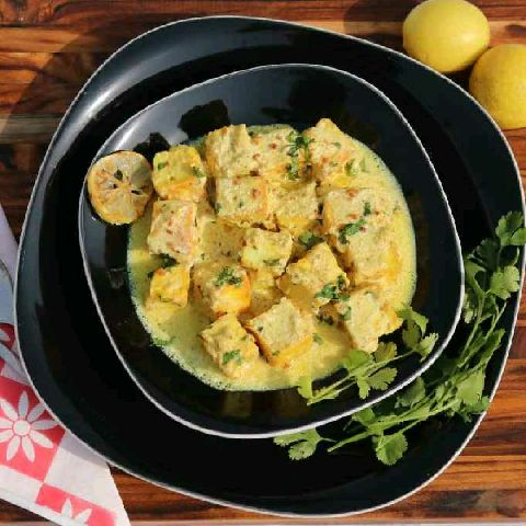 How to make Paneer in Lemon Butter Sauce