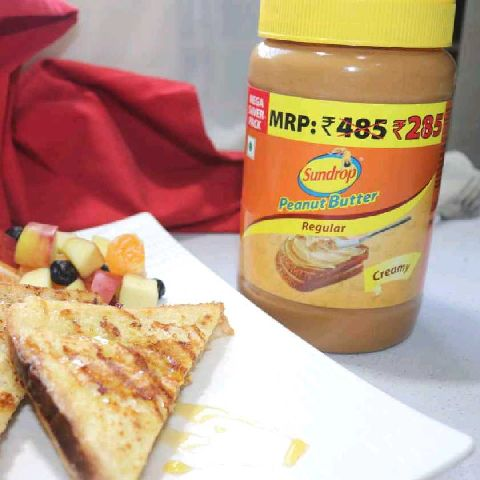 How to make Peanut butter stuffed French toast