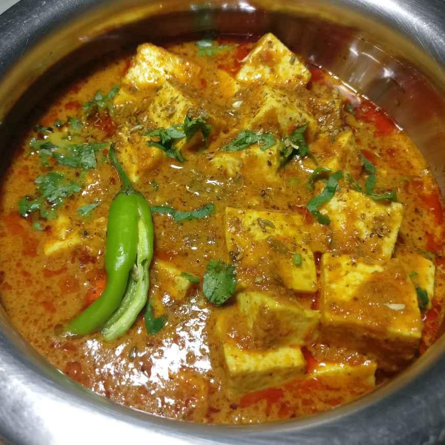 How to make Achari paneer