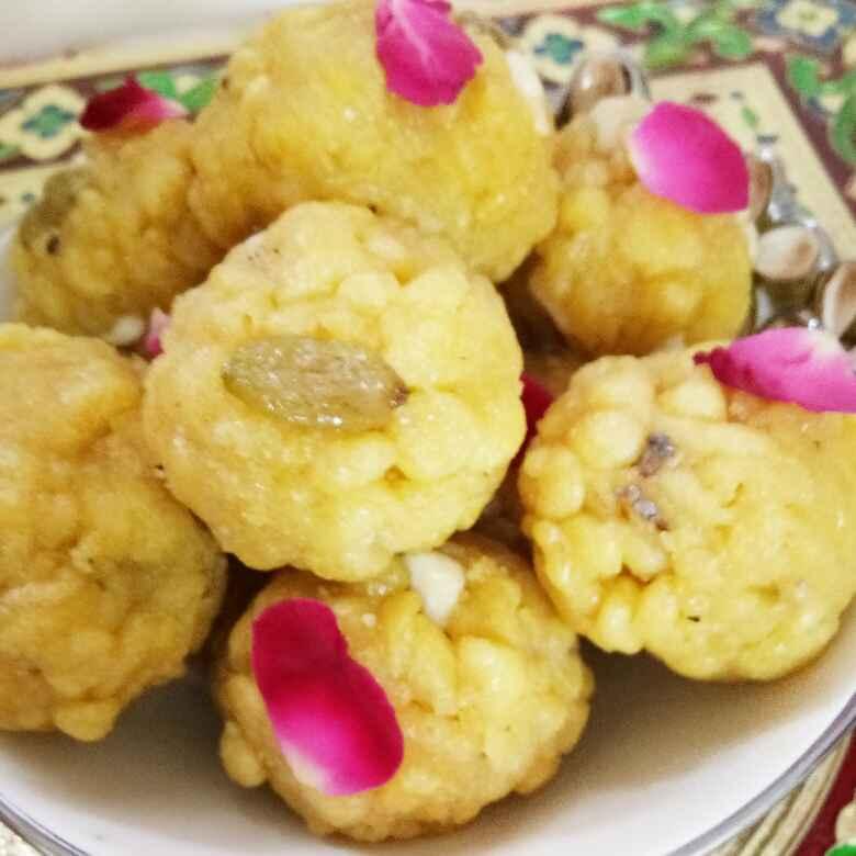 How to make Rajasthan ka famous bundi laddu