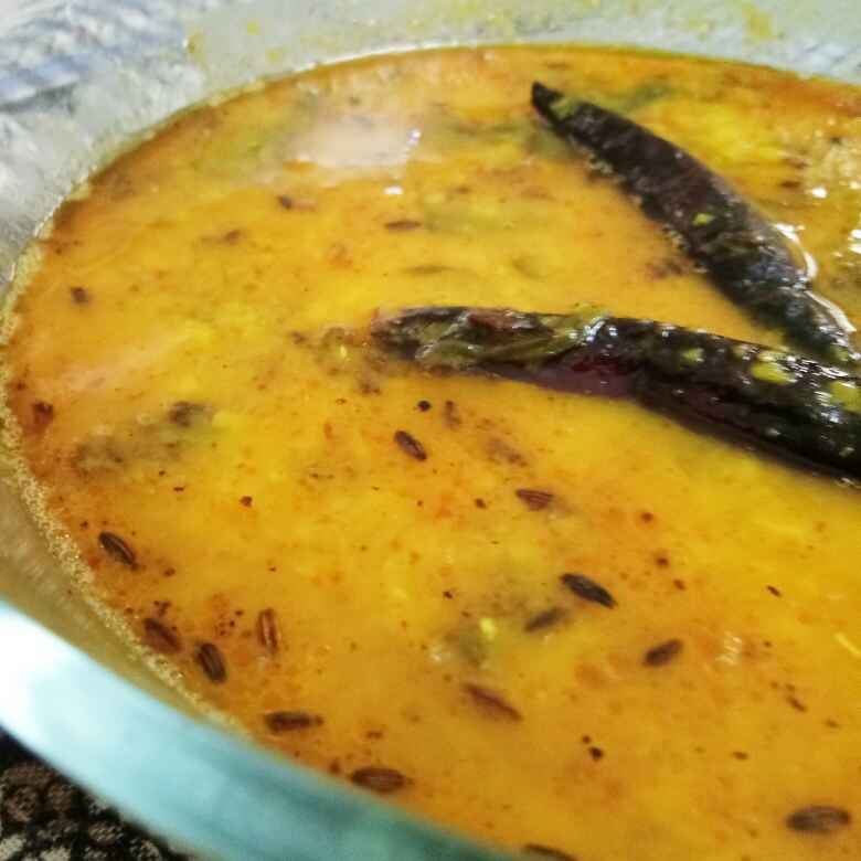 Photo of Daal tadaka (Daal fry) with spinach by Ritu Chaudhary at BetterButter