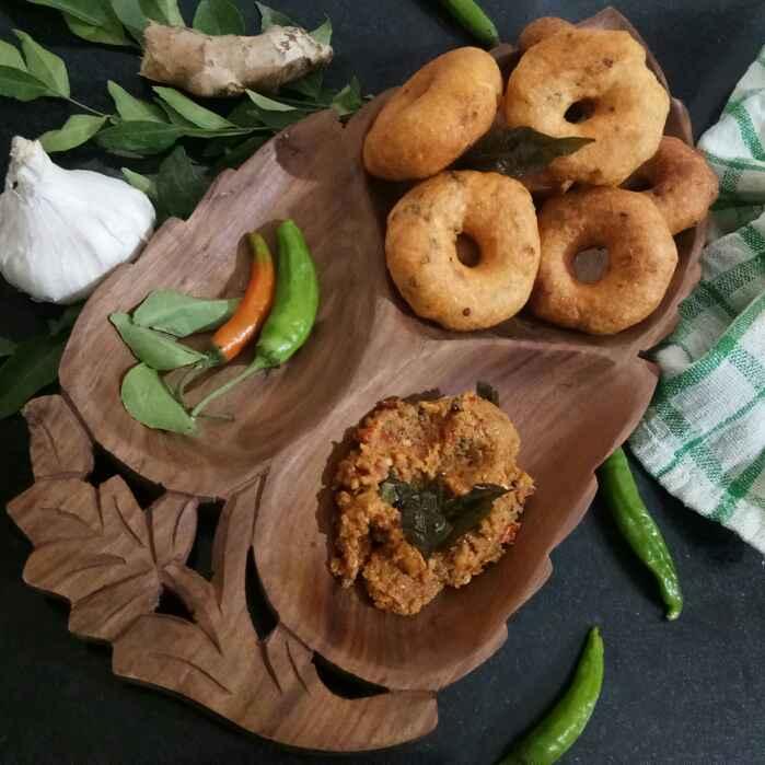 How to make मेदु वडा (Medu vada)